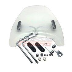 Προστατευτικό γυαλί μηχανής UNIVERSAL μπαμπρίζ (ΜΕΣΑΙΟ)