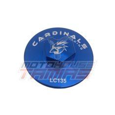 Τάπα Λαδιού μαγνητική CARDINALS RACING YAMAHA CRYPTON X 135 (μπλε)